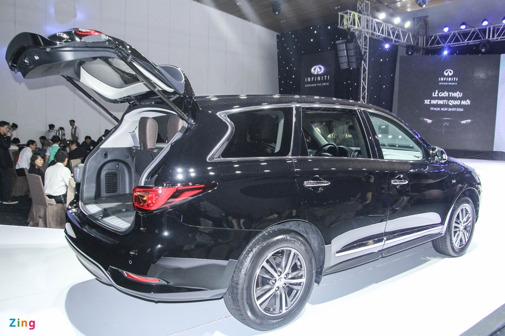 Chi tiet Infiniti QX60 - doi thu Audi Q7 tai Viet Nam hinh anh 17
