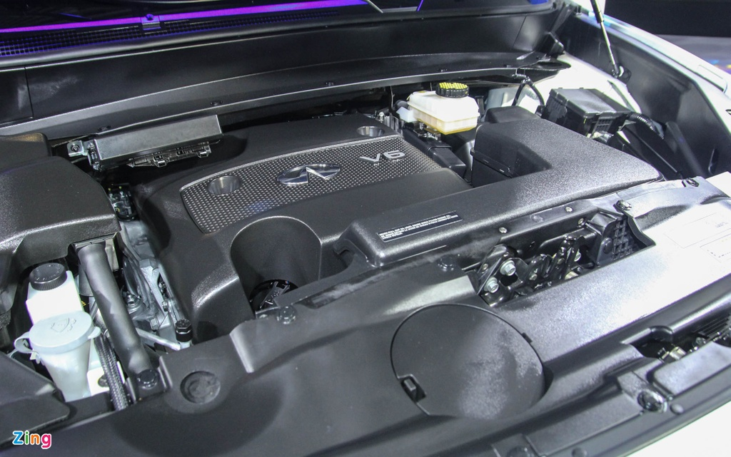 Chi tiet Infiniti QX60 - doi thu Audi Q7 tai Viet Nam hinh anh 5