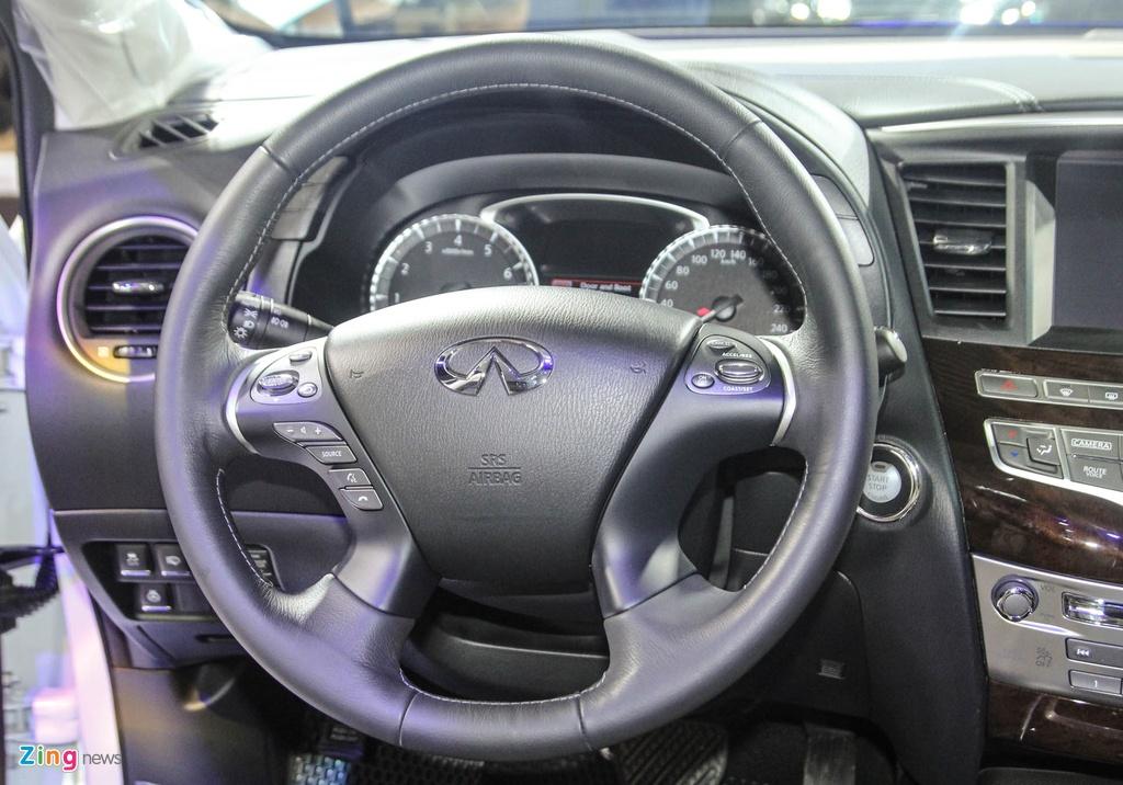 Chi tiet Infiniti QX60 - doi thu Audi Q7 tai Viet Nam hinh anh 9