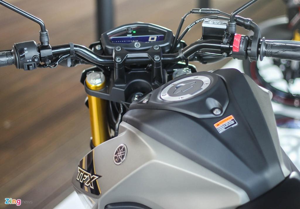Chi tiet Yamaha TFX150 - xe con tay 150 cc vua ra mat tai VN hinh anh 11