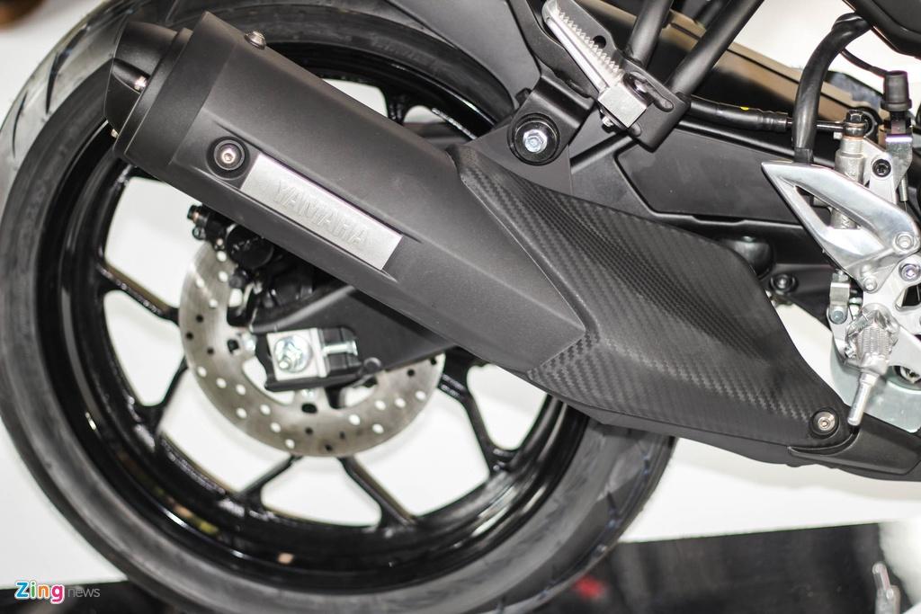 Chi tiet Yamaha TFX150 - xe con tay 150 cc vua ra mat tai VN hinh anh 14