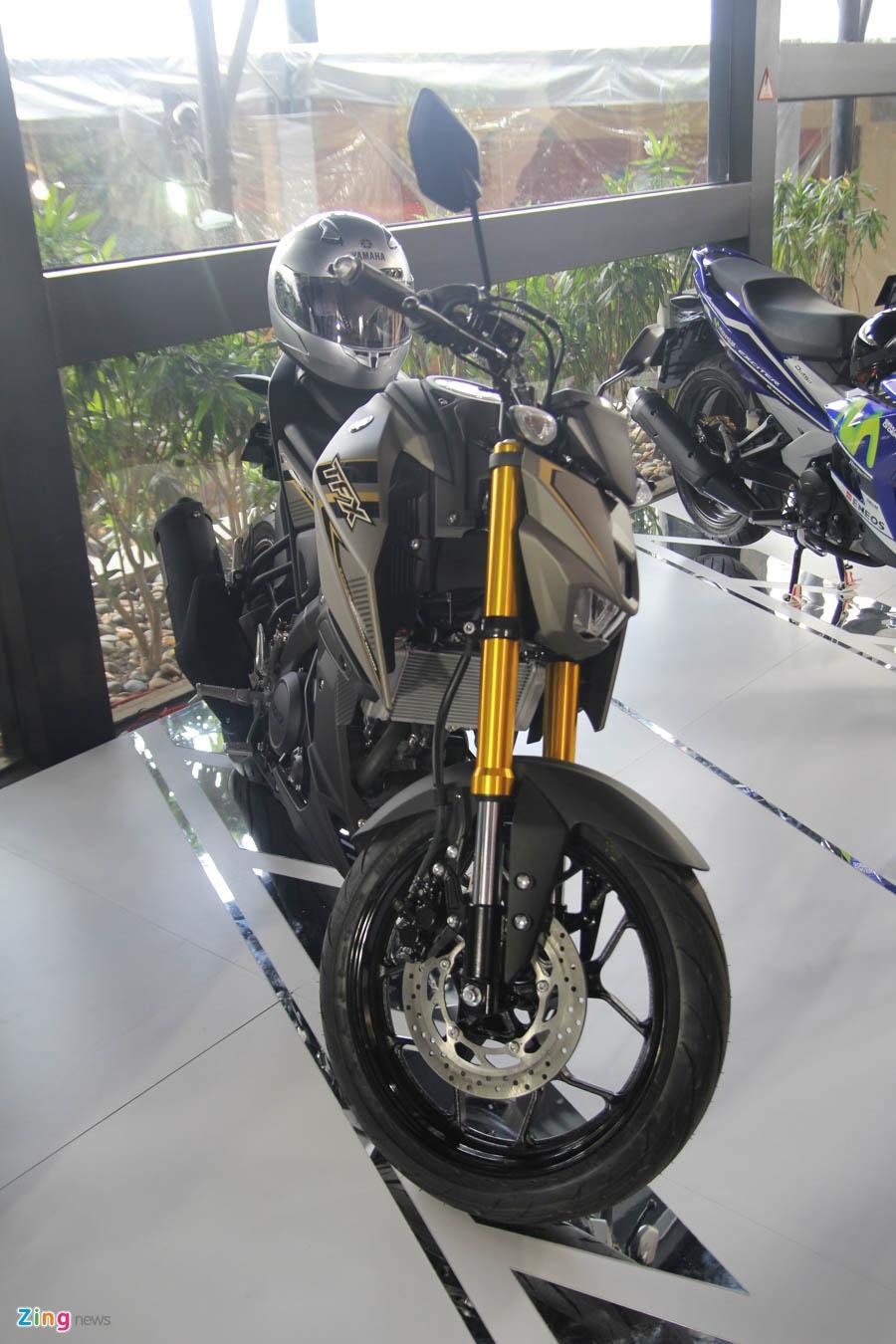 Chi tiet Yamaha TFX150 - xe con tay 150 cc vua ra mat tai VN hinh anh 3
