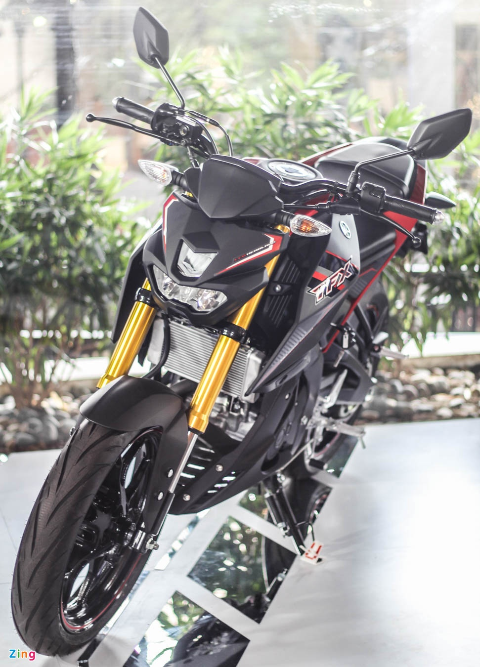 Chi tiet Yamaha TFX150 - xe con tay 150 cc vua ra mat tai VN hinh anh 4