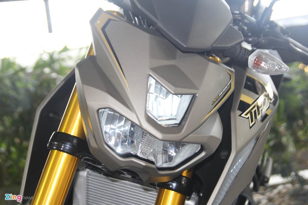 Chi tiet Yamaha TFX150 - xe con tay 150 cc vua ra mat tai VN hinh anh 6