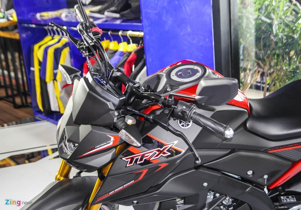 Chi tiet Yamaha TFX150 - xe con tay 150 cc vua ra mat tai VN hinh anh 7