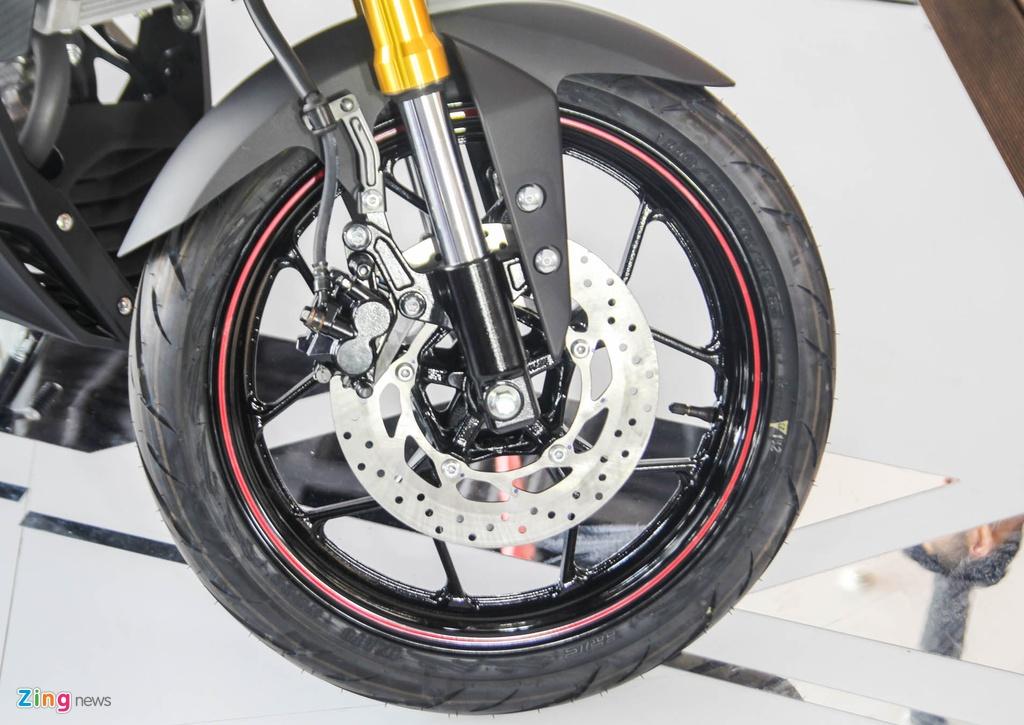 Chi tiet Yamaha TFX150 - xe con tay 150 cc vua ra mat tai VN hinh anh 9