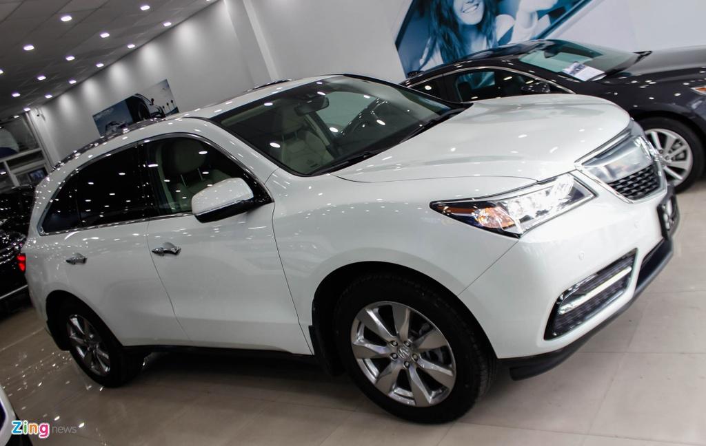 Acura MDX 2016 - doi thu nang ky cua BMW X5 ve Viet Nam hinh anh 2