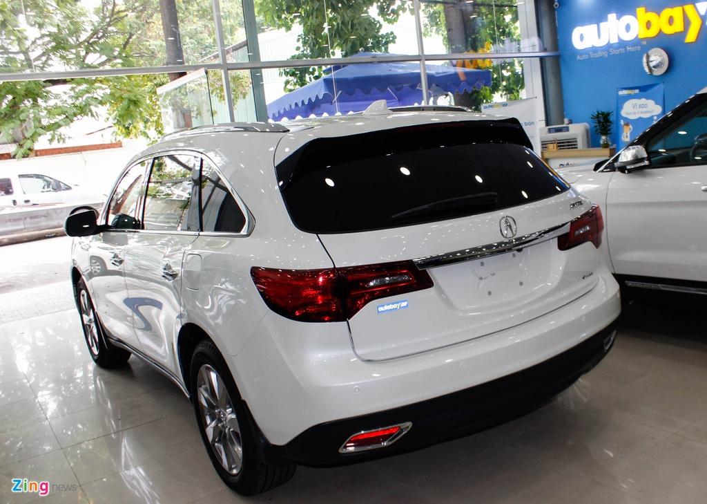 Acura MDX 2016 - doi thu nang ky cua BMW X5 ve Viet Nam hinh anh 3