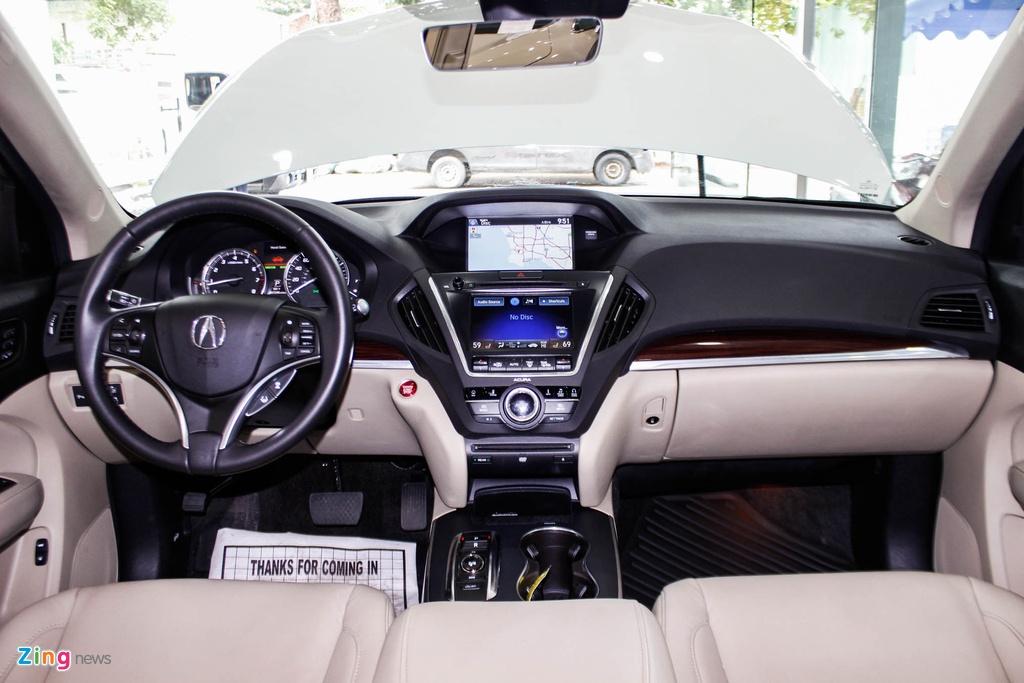 Acura MDX 2016 - doi thu nang ky cua BMW X5 ve Viet Nam hinh anh 5