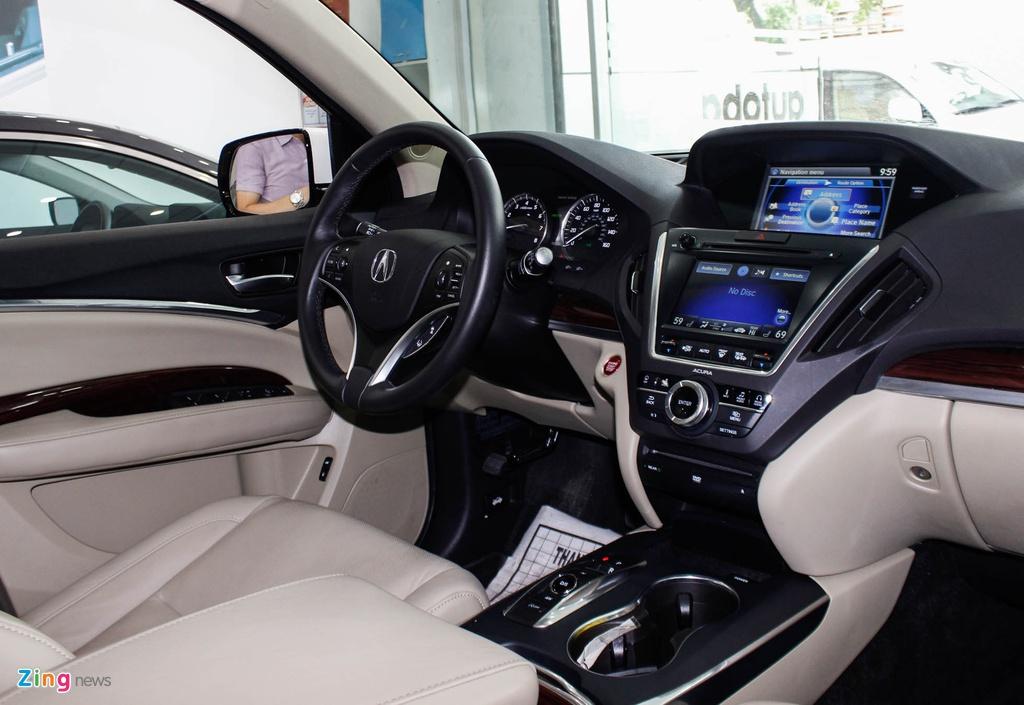 Acura MDX 2016 - doi thu nang ky cua BMW X5 ve Viet Nam hinh anh 9
