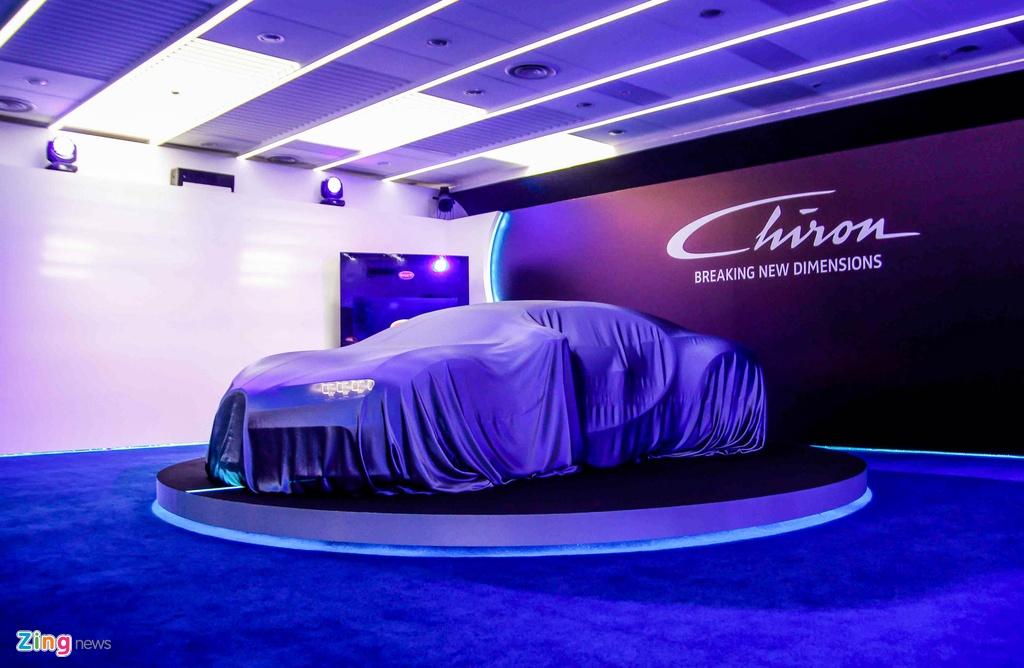 Bugatti Chiron ra mat tai Singapore anh 1