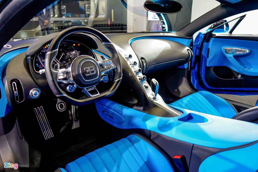 Bugatti Chiron ra mat tai Singapore anh 14