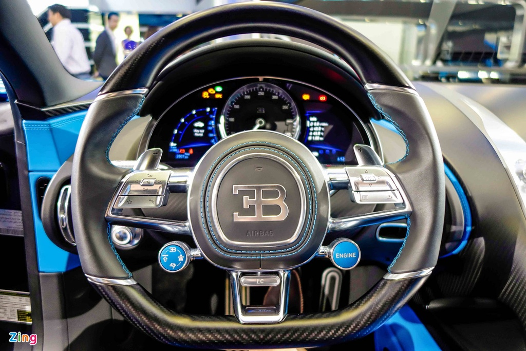 Bugatti Chiron ra mat tai Singapore anh 15