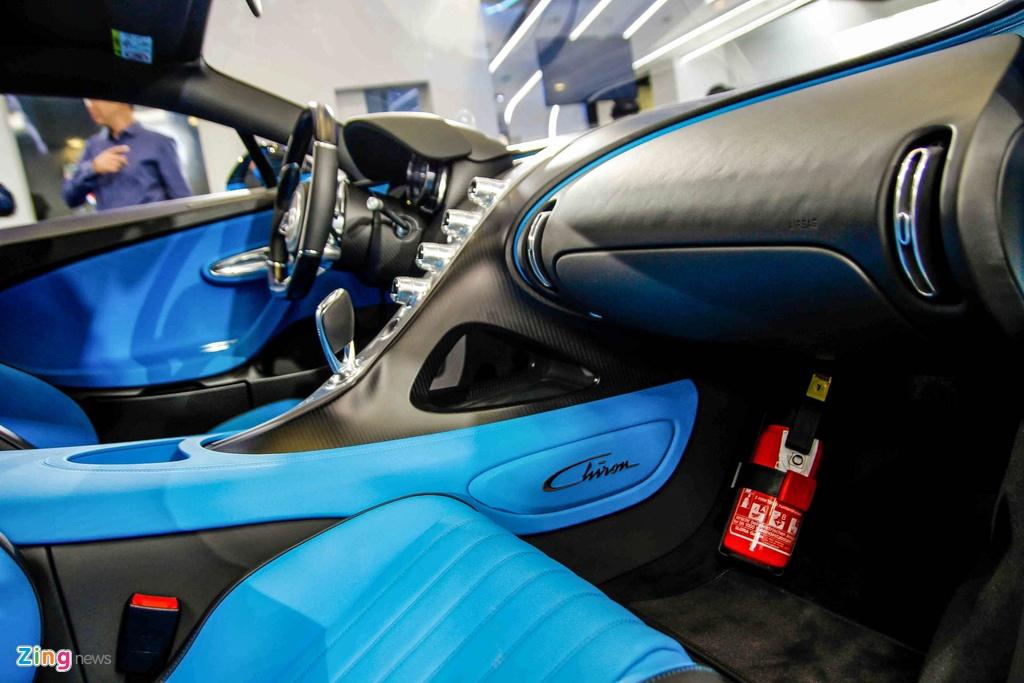 Bugatti Chiron ra mat tai Singapore anh 17