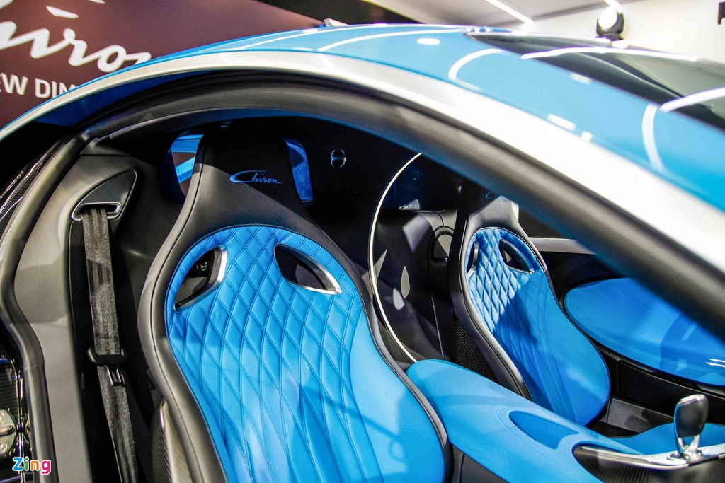 Bugatti Chiron ra mat tai Singapore anh 18