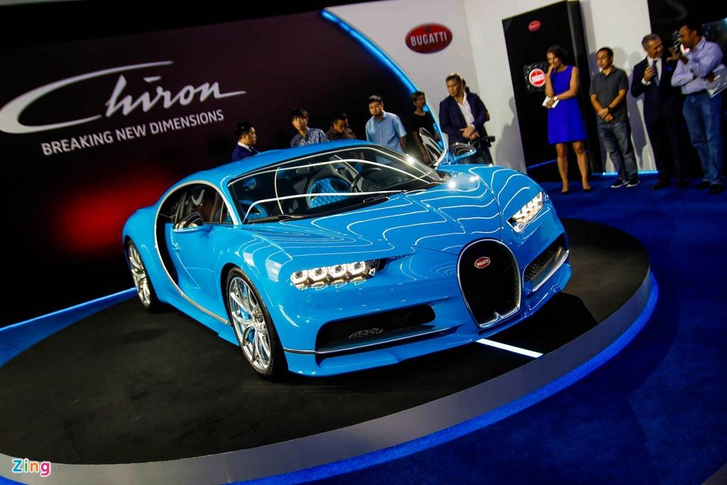 Bugatti Chiron ra mat tai Singapore anh 6