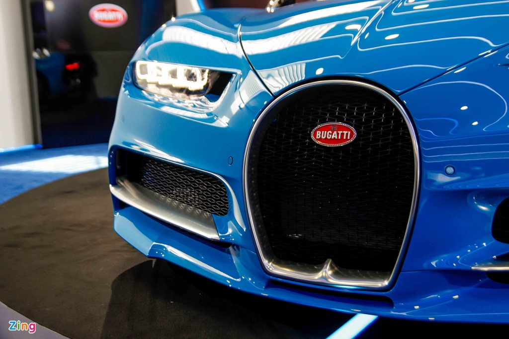 Bugatti Chiron ra mat tai Singapore anh 9