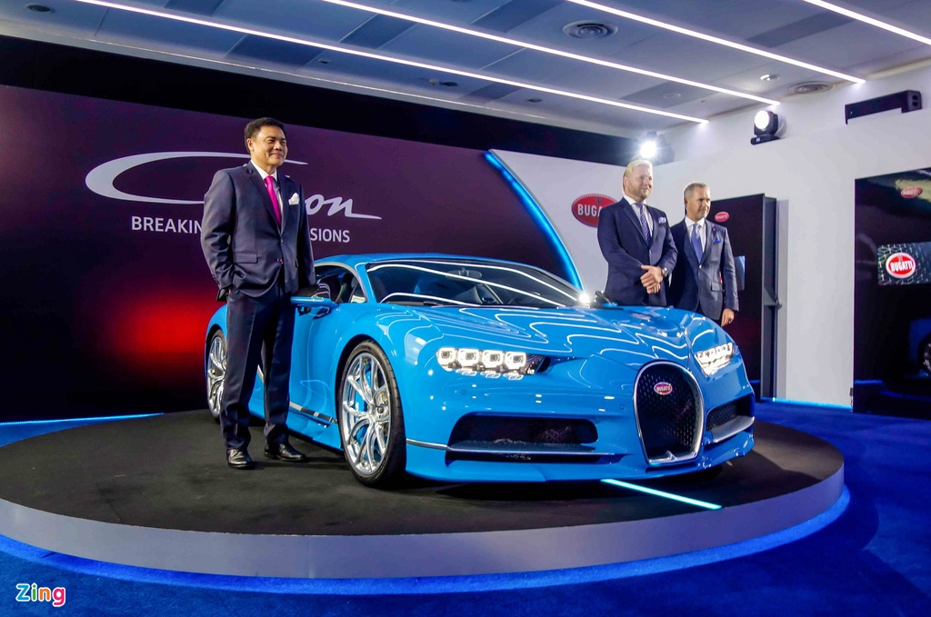 Bugatti Chiron ra mat tai Singapore anh 2
