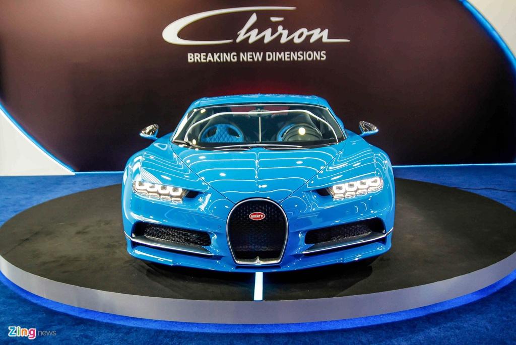 Bugatti Chiron ra mat tai Singapore anh 3