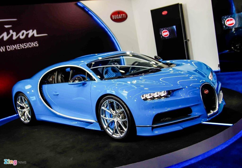 Bugatti Chiron ra mat tai Singapore anh 4