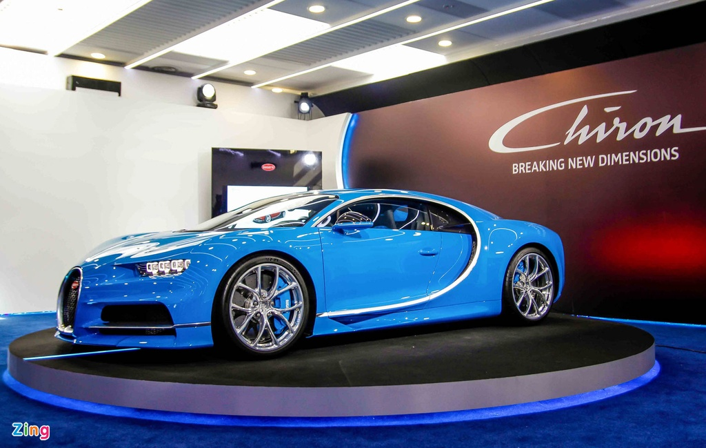Bugatti Chiron ra mat tai Singapore anh 5