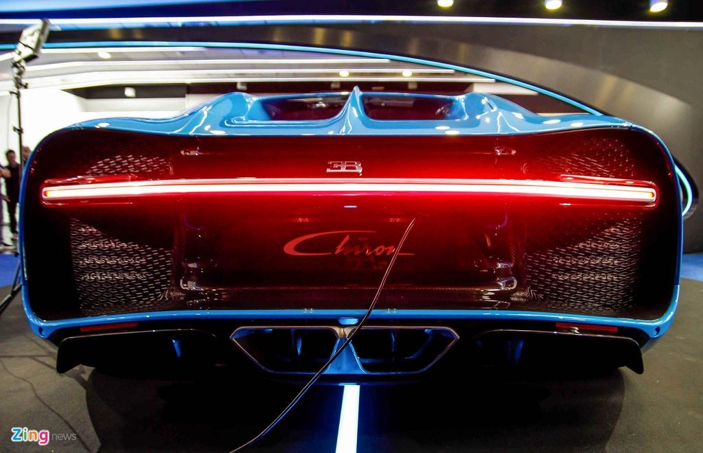 Bugatti Chiron ra mat tai Singapore anh 10