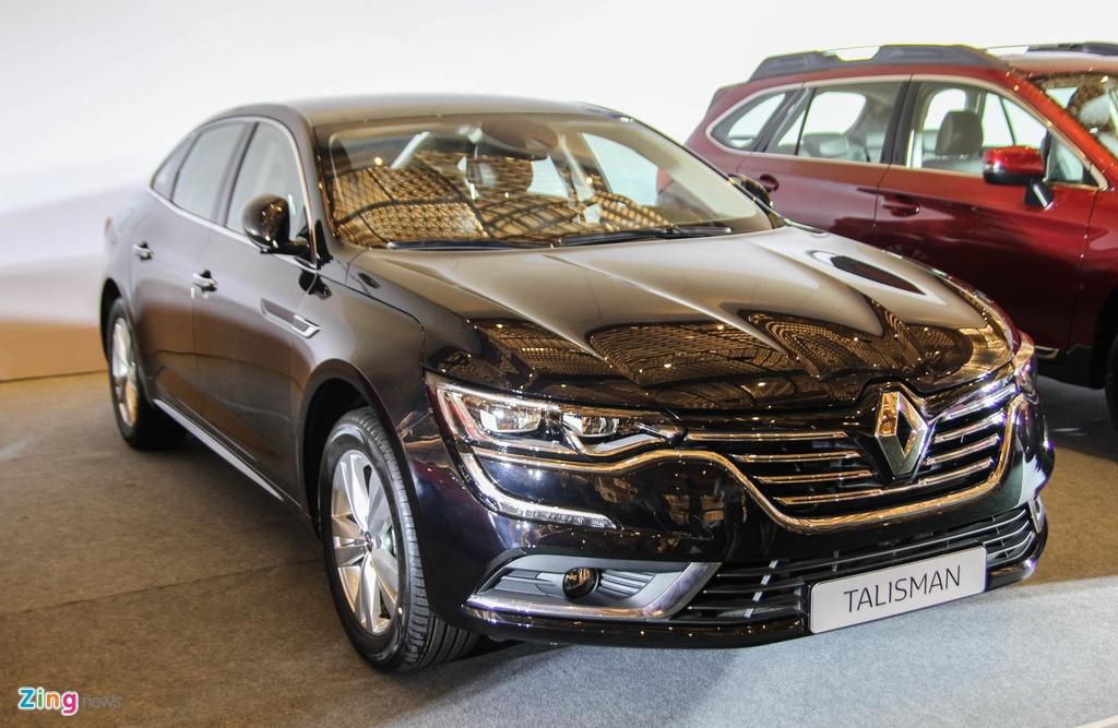 Chi tiet Renault Talisman - doi thu Toyota Camry tai VN hinh anh 1