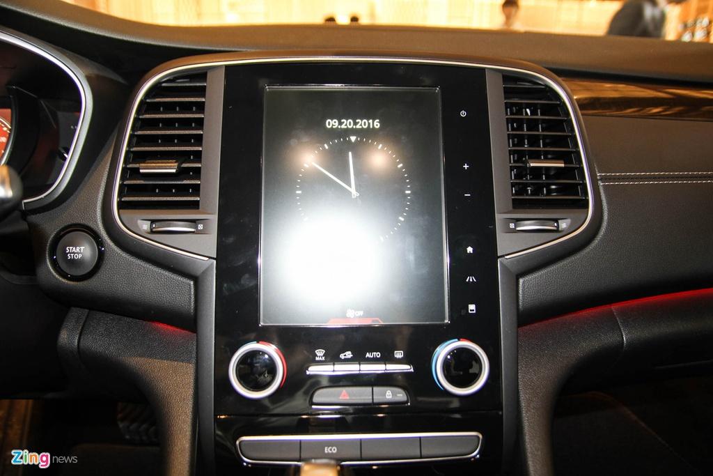 Chi tiet Renault Talisman - doi thu Toyota Camry tai VN hinh anh 10