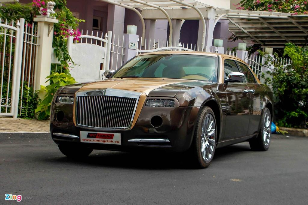 Tho Viet do Chrysler 300C thanh 'Rolls-Royce' het 200 trieu hinh anh 1