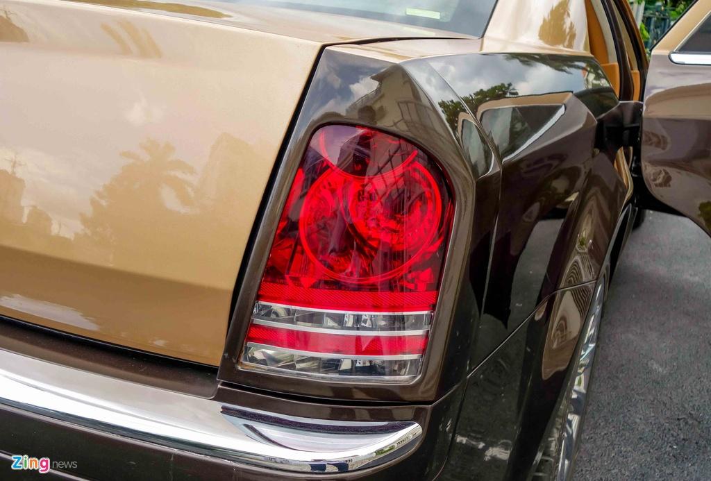 Tho Viet do Chrysler 300C thanh 'Rolls-Royce' het 200 trieu hinh anh 11