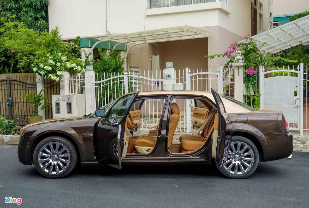 Tho Viet do Chrysler 300C thanh 'Rolls-Royce' het 200 trieu hinh anh 4