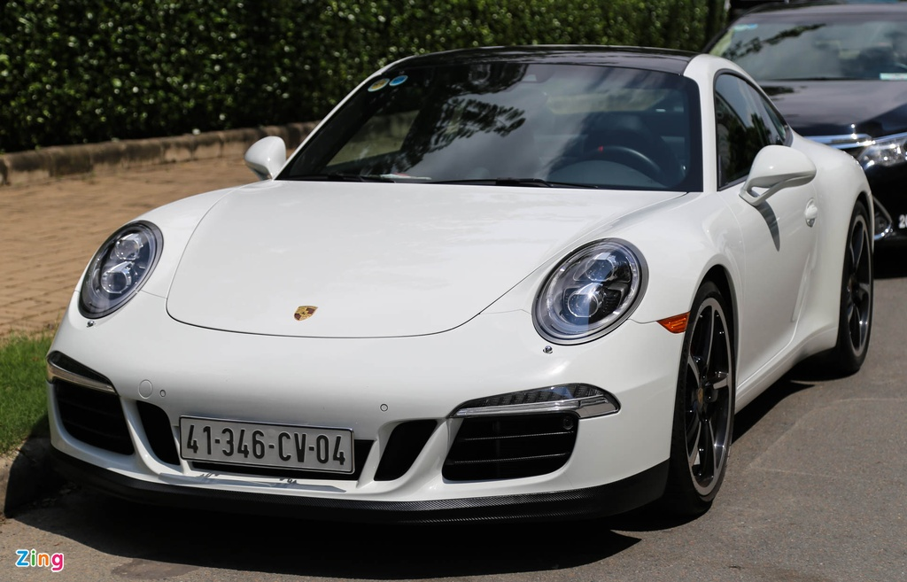 Porsche Carrera S tai Viet Nam anh 1