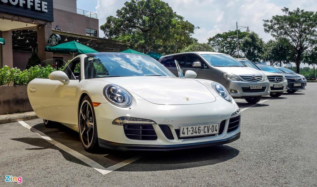 Sieu xe Porsche ban so luong han che tai Sai Gon hinh anh 10