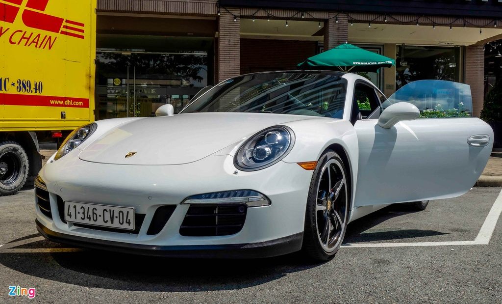 Porsche Carrera S tai Viet Nam anh 9