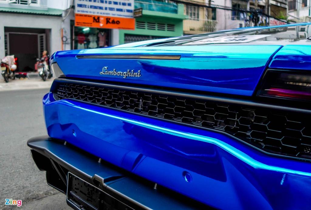 Sieu xe Lamborghini Huracan tren duong que Long An hinh anh 8