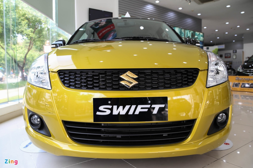 Chi tiet Suzuki Swift dac biet gia 609 trieu tai Viet Nam hinh anh 1