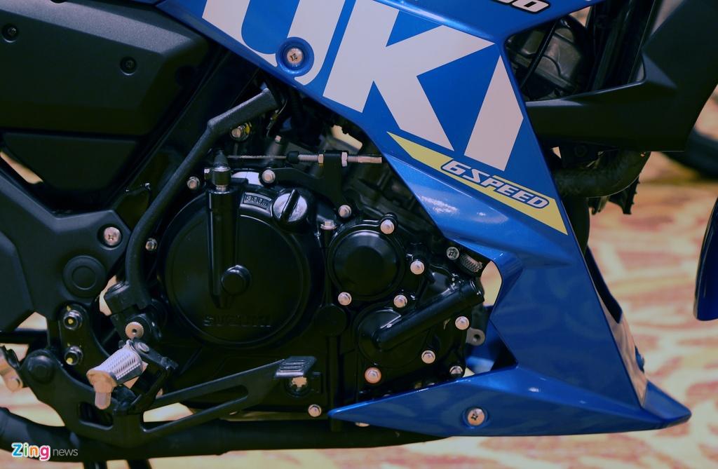 Anh Suzuki Raider 2016: Doi thu Exciter, Winner 150 tai VN hinh anh 6