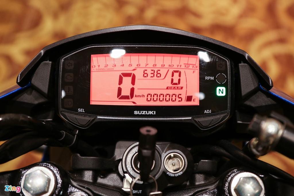 Anh Suzuki Raider 2016: Doi thu Exciter, Winner 150 tai VN hinh anh 7
