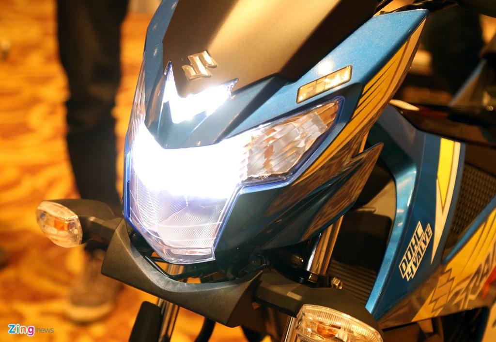 Anh Suzuki Raider 2016: Doi thu Exciter, Winner 150 tai VN hinh anh 9