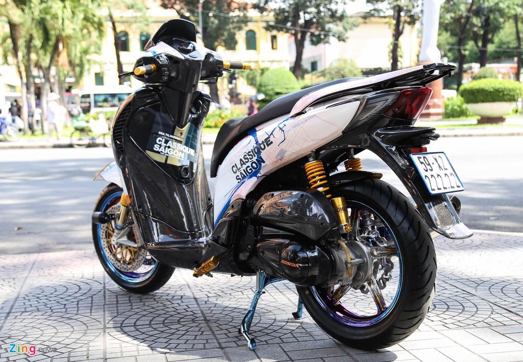 Honda SH bien ngu quy do tren 200 trieu cua biker Sai Gon hinh anh 4