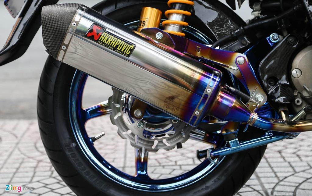 Honda SH bien ngu quy do tren 200 trieu cua biker Sai Gon hinh anh 8