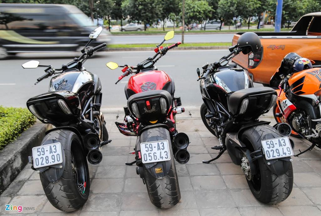 sieu xe va moto tap trung o Sai Gon anh 8