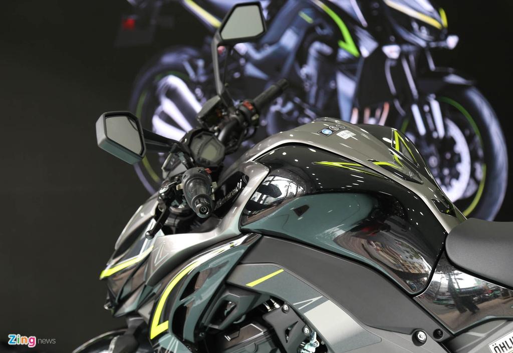 Kawasaki Z1000 2017 ra mat tai VN, gia tu 399 trieu dong hinh anh 14