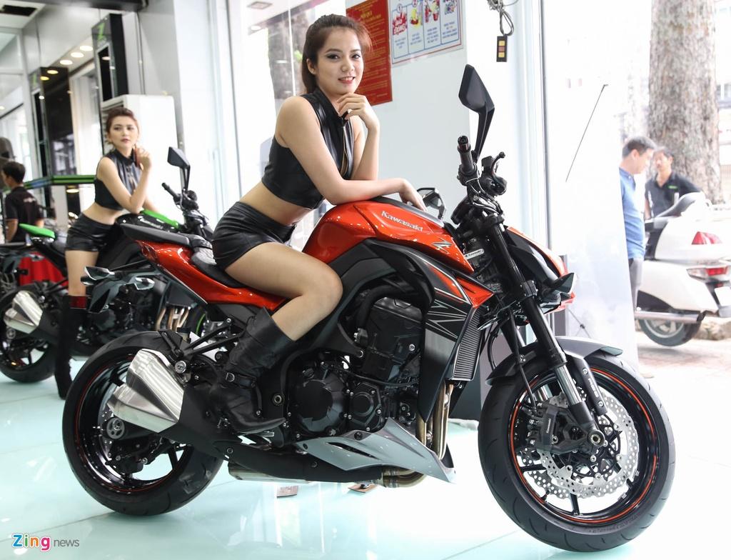 Kawasaki Z1000 2017 ra mat tai VN, gia tu 399 trieu dong hinh anh 2