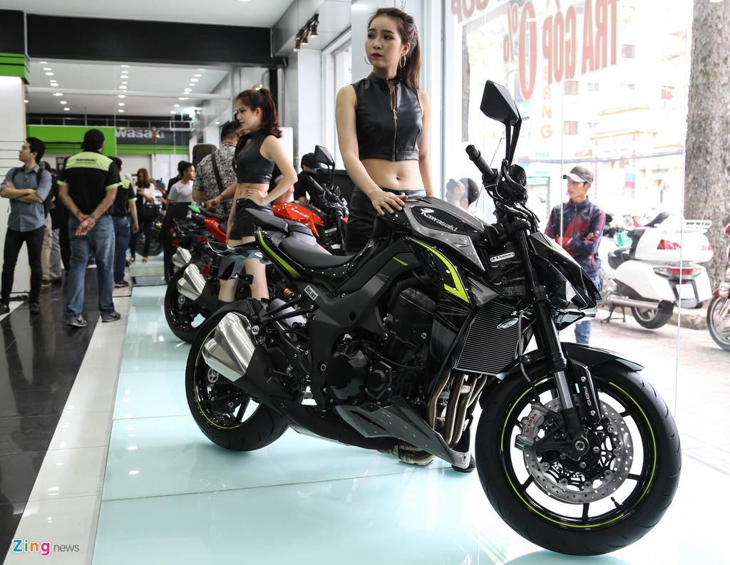 Kawasaki Z1000 2017 ra mat tai VN, gia tu 399 trieu dong hinh anh 15