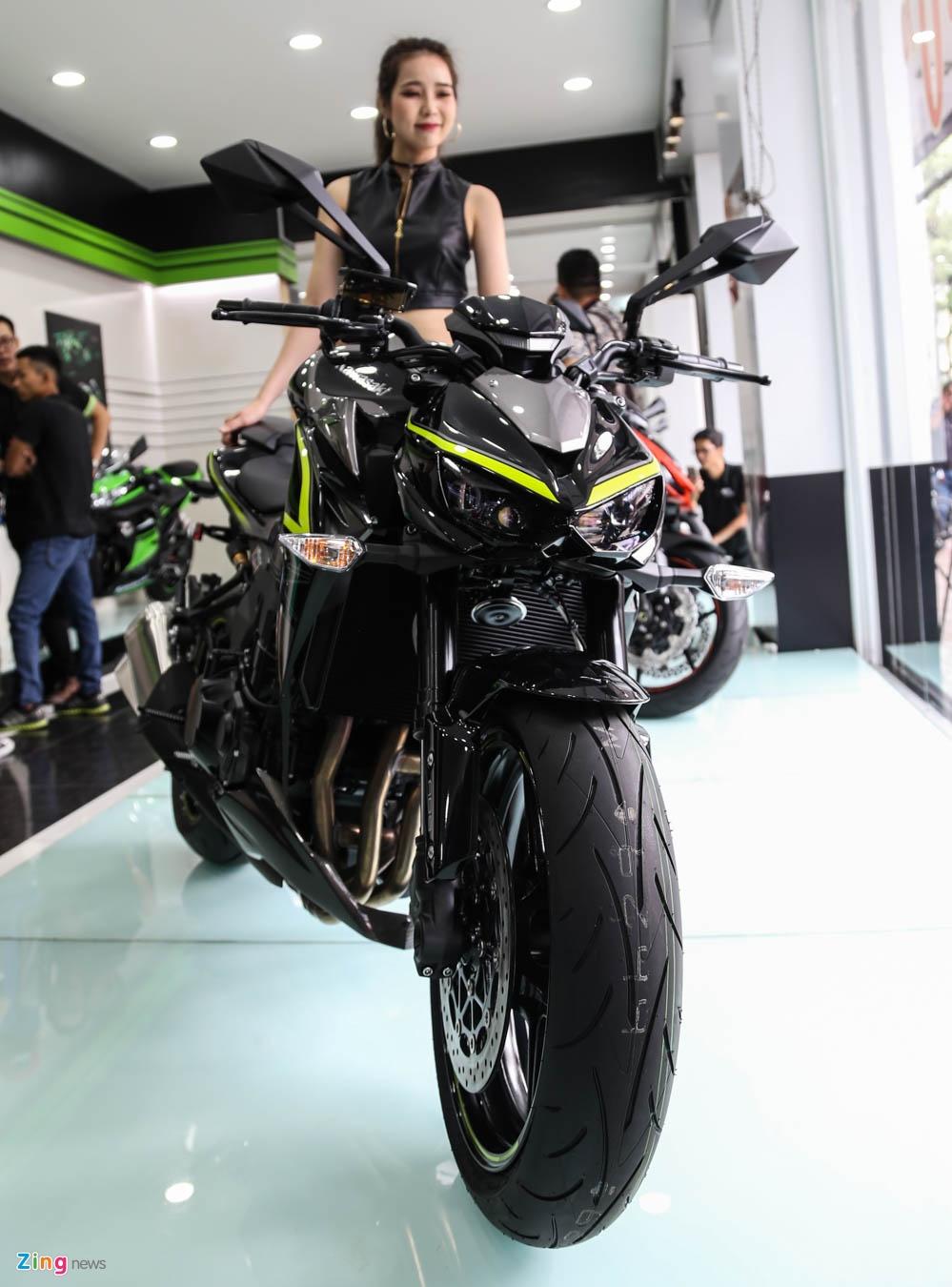 Kawasaki Z1000 2017 ra mat tai VN, gia tu 399 trieu dong hinh anh 5