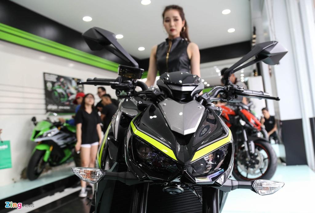 Kawasaki Z1000 2017 ra mat tai VN, gia tu 399 trieu dong hinh anh 10