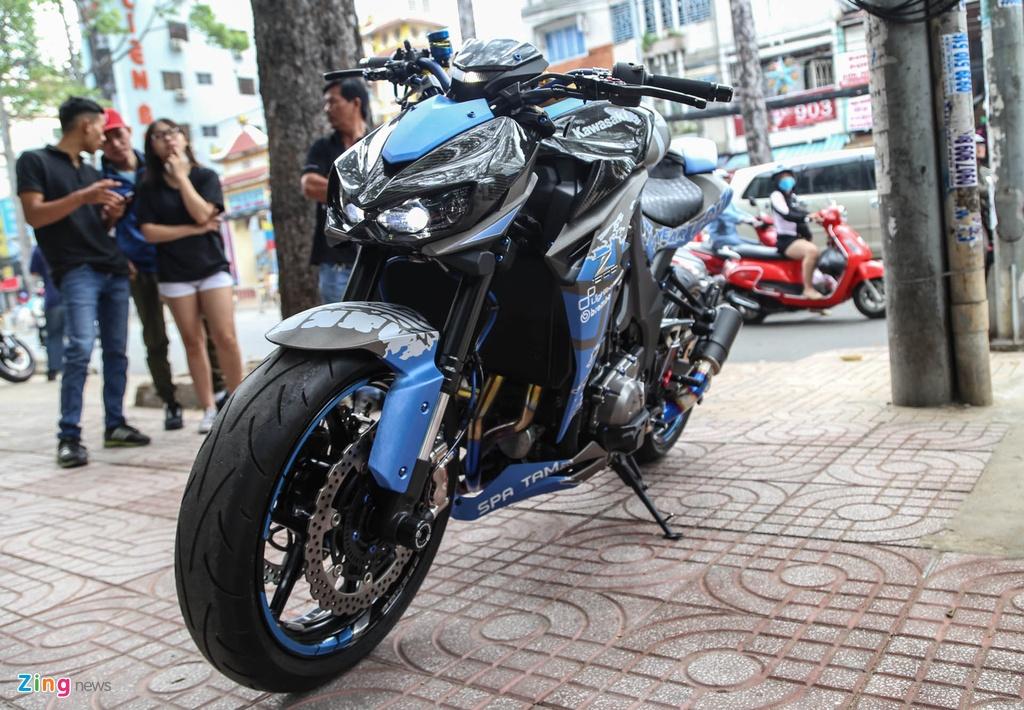 Kawasaki Z1000 do don Tet anh 1