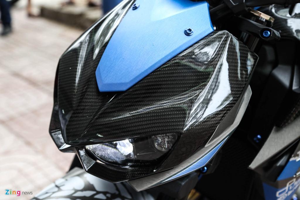 Kawasaki Z1000 do don Tet anh 12