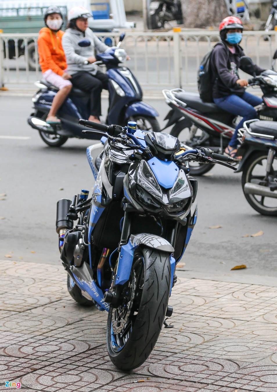 Kawasaki Z1000 do don Tet anh 3